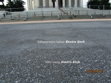 Jefferson Memorial using EnviroEtch