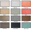 Colored Roof Coating For Asphalt Shingles 12 Color