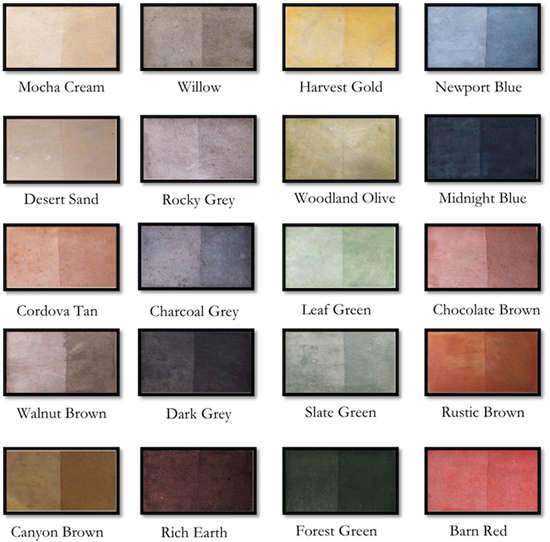 Trojan Color Sealer Earth Tones