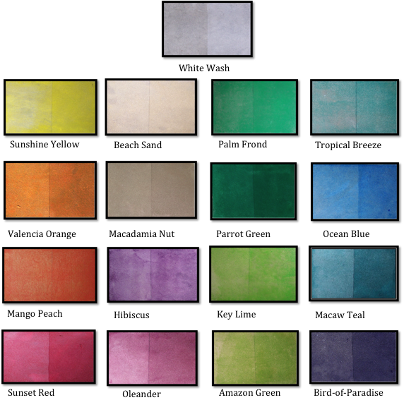 Trojan Color Sealer Tropical Colors