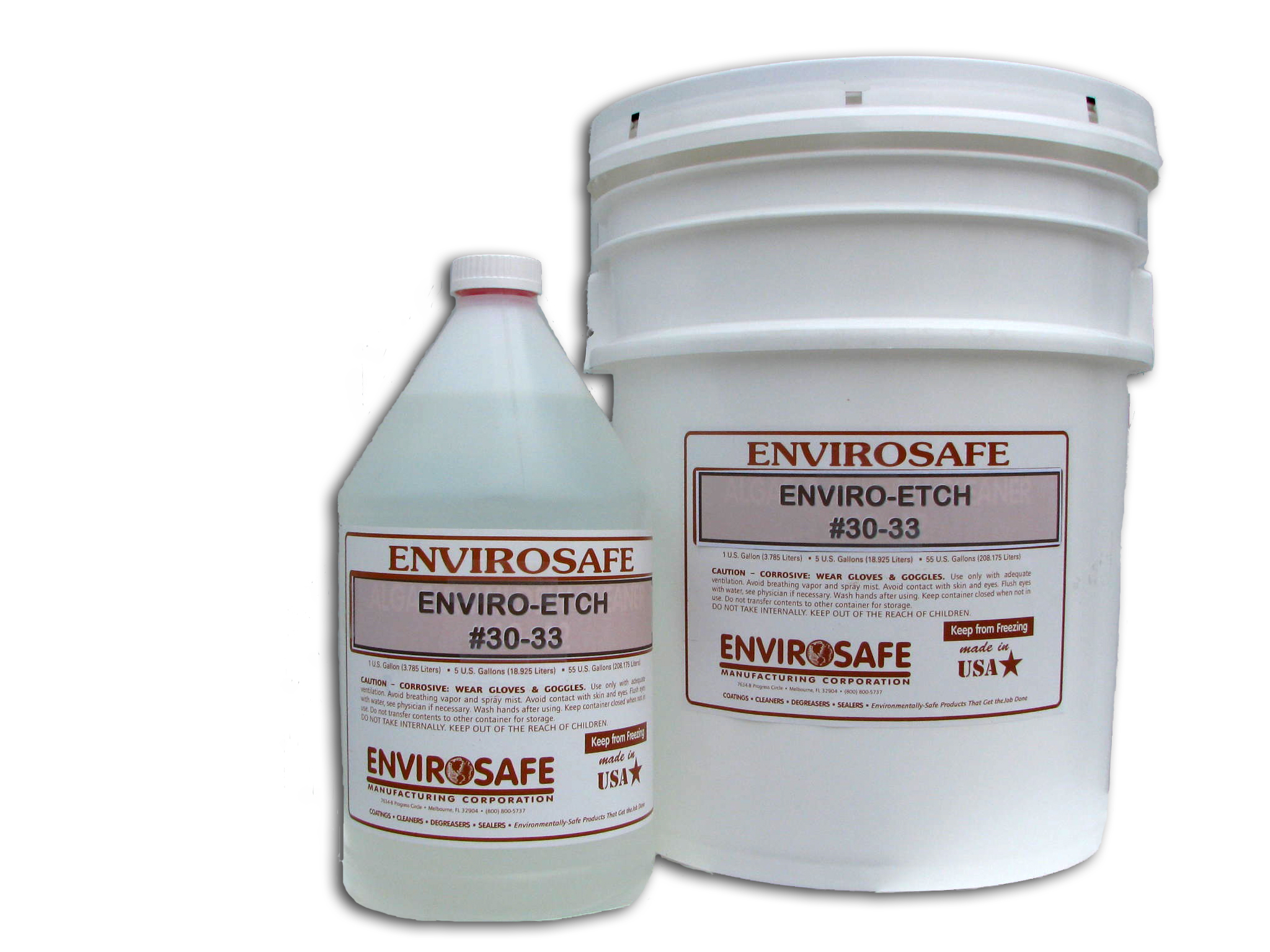 Concrete Cleaner That Micro Etches To Remove Efflorescence