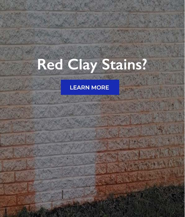 Red Clay Stains?